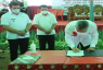 Pemkab Minsel melakukan Penandatangan Nota Kesepahaman Reforma Agraria tahun 2021