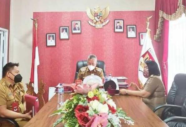 Bupati Wongkar Atensi Penyaluran Bantuan Sosial (Bansos), Inspektorat Diminta Dampingi