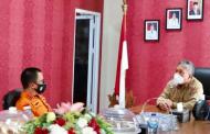 Terima Kunjungan Kepala Basarnas Kota Manado, Ini Kata Bupati Wongkar